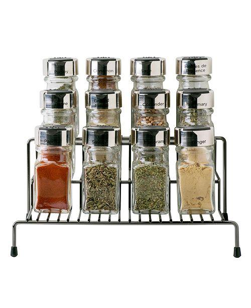 Kitchen Details 3 Tier Spice Rack Shelf Organizer
