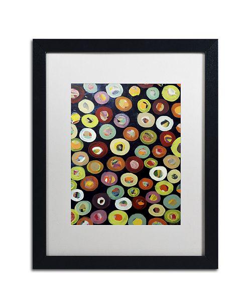"""Trademark Global Sylvie Demers 'Archipel' Matted Framed Art - 16"""" x 20"""" x 0.5"""""""