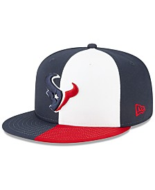 New Era Little Boys Houston Texans Draft 59FIFTY Fitted Cap