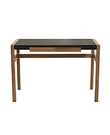 Proman Products Rico Deluxe Writing or Laptop Desk with Drawer