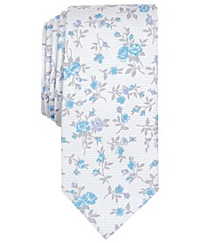 Men's Collins Floral Skinny Tie, Created for Macy's