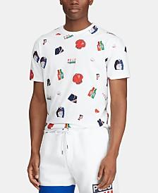 Polo Ralph Lauren Men's Custom Slim Fit Chariots T-Shirt