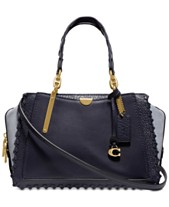 2a55f5951a10 COACH Whipstitch Colorblock Leather Dreamer Satchel