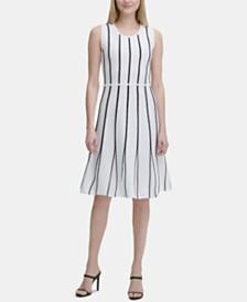 Calvin Klein Knit Fit & Flare Dress