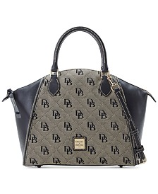 Dooney & Bourke Sydney Signature Satchel