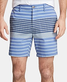 "Nautica Men's Twill Stripe 6"" Shorts, Created for Macy's"