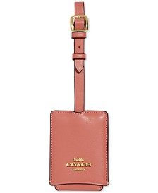 COACH Leather Luggage Tag