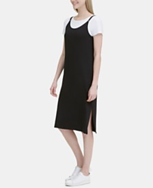 Calvin Klein T-Shirt & Midi Dress