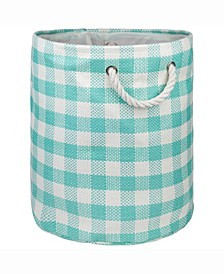 Design Import Paper Bin Checkers, Round