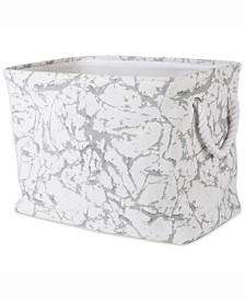 Storage Bin Marble, Rectangle