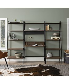 3-Piece Home Office Wood Desk Set