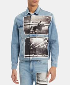Calvin Klein Jeans Men's Photograph Rodeo Trucker Jacket