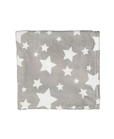 Plush Star Baby Blanket