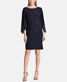 3/4-Sleeve Dress