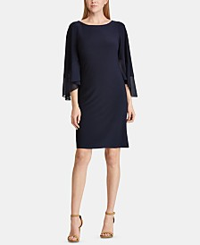 Lauren Ralph Lauren 3/4-Sleeve Dress