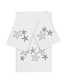 Turkish Cotton Lydia 3-Pc. Embellished Towel Set
