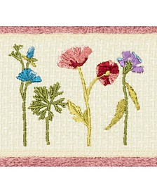 Linum Home Turkish Cotton Serenity Embellished Washcloth
