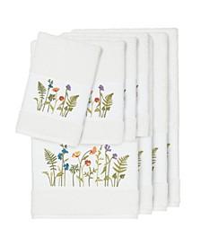 Turkish Cotton Serenity 8-Pc. Embellished Towel Set