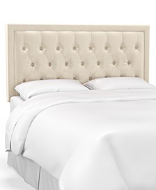 Skylands Collection Layla Queen Tufted Headboard, Quick Ship, Created for Macy's