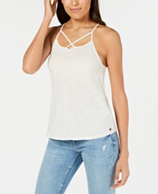 Roxy Juniors' Cotton Strappy Tank Top