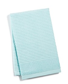 Martha Stewart Collection Quick Dry Reversible Hand Towel, Created for Macy's