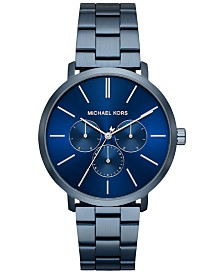 Michael Kors Men's Blake Navy Stainless Steel Bracelet Watch 42mm