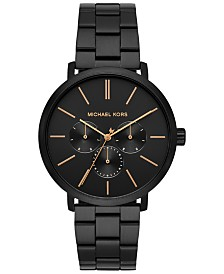 Michael Kors Men's Blake Black Stainless Steel Bracelet Watch 42mm