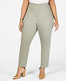 Lucy Plus Size Colored Denim Jeggings