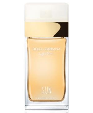 Dolce & Gabbana Light Blue Sun Eau De Toilette 1.6 Oz/50 ml Eau De Toilette Spray