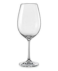 Red Vanilla Viola Red Wine Glass 18.5 Oz, Set of 12