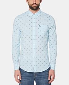 Original Penguin Men's Palm-Print Shirt