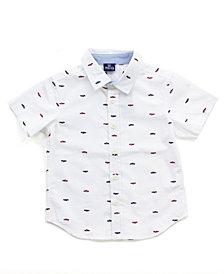 Baby Boy Printed Button Down Shirt
