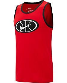 Nike Men's Dri-FIT Logo Basketball Tank Top