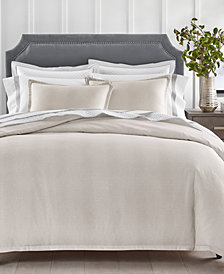Charter Club Sleep Luxe Cotton 800-Thread Count Pebble Duvet Cover Sets, Created for Macy's