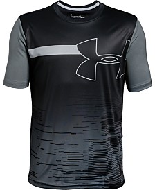 Under Armour Big Boys Sun Armour Logo T-Shirt
