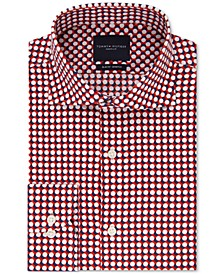 Men's Slim-Fit Non-Iron THFlex Supima® Stretch Bold Pattern Dress Shirt