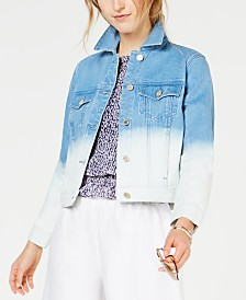 Michael Michael Kors Ombre Denim Jacket