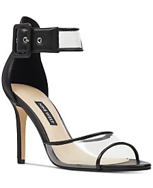 Nine West Mila Vinyl Dress Sandals
