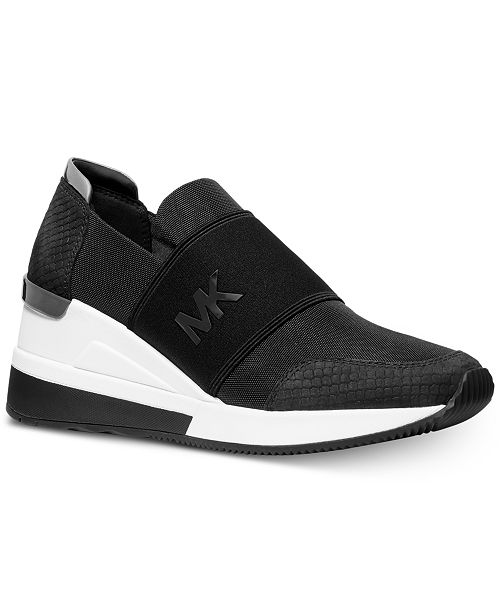 heal Least Chemistry  Michael Kors Felix Signature Logo Bubble Trainer Sneakers & Reviews -  Athletic Shoes & Sneakers - Shoes - Macy's