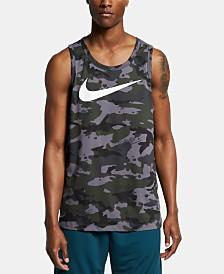 Nike Men's Dri-FIT Camo Training Tank Top
