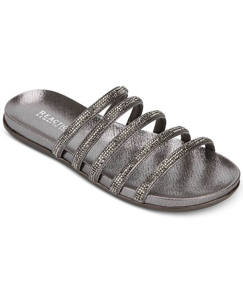 a23f8be2d Kenneth Cole Reaction Women s Slim Shimmer Sandals   Reviews ...