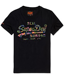 Superdry Men's Vintage Logo Layered Camo T-Shirt
