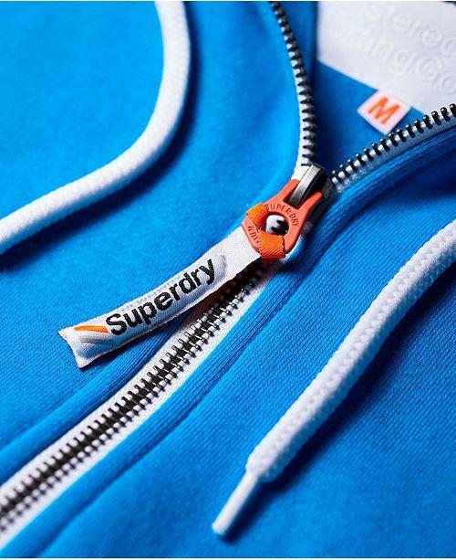 Sweats zippe La capuche pour Sweat Athletics hommes capuche commentaires a Superdry et a bleu Atomic Homme OkTXPZiu