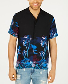 American Rag Men's Tropic Nights Shirt, Created for Macy's