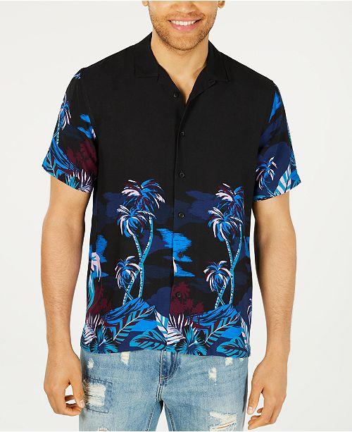 American Rag Men's Tropic Nights Shirt, Created for Macy's