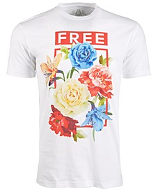 Men's Floral Graphic T-Shirt, Created for Macy's