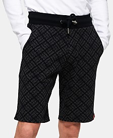 Superdry Men's Logo-Print Drawstring Shorts