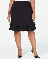 5e2d6e7323 Knee Length Plus Size Skirts for Women - Macy's