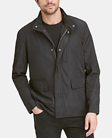 Men's Snap-Front Packable Jacket