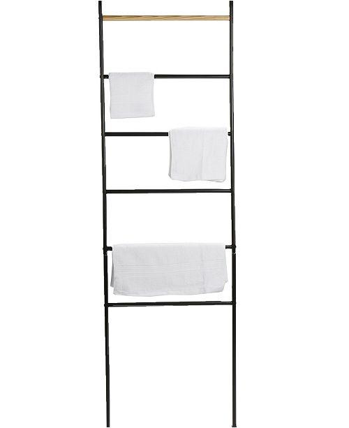 Mind Reader 6 Bar Towel Rack